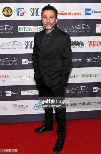 Director Talal Derki attends the 14th Annual Los Angeles Italia Film Fashion and Art Fest Closing Night Gala at TCL Chinese 6 Theatres on February 22...