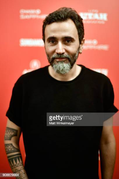 Director Talal Derki attends the Of Fathers And Sons Premiere during the 2018 Sundance Film Festival at Egyptian Theatre on January 22 2018 in Park...