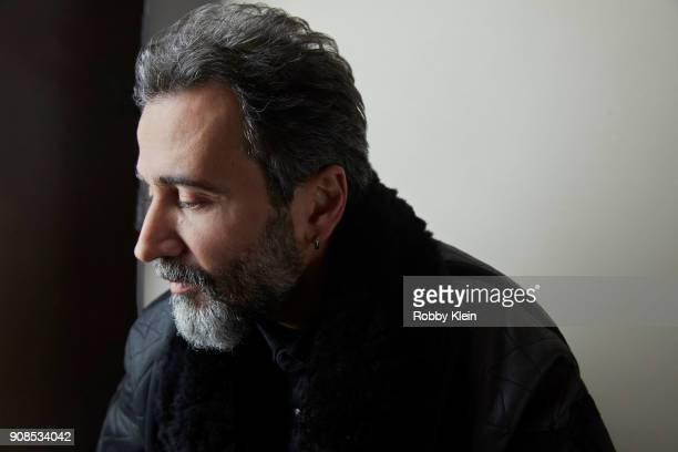 Director Talal Derki from the film 'Of Fathers And Sons' poses for a portrait at the YouTube x Getty Images Portrait Studio at 2018 Sundance Film...