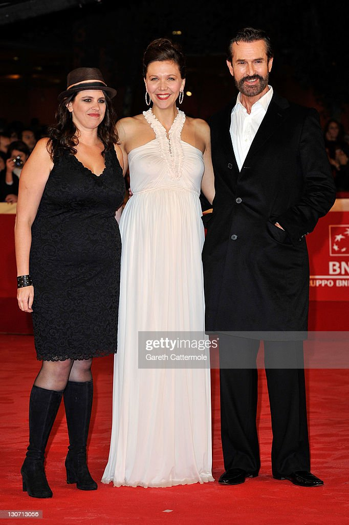 Director Tanya Wexler, actress Maggie Gyllenhaal and actor actor Rupert Everett attend the 'Hysteria' Premiere during the 6th International Rome Film Festival on October 28, 2011 in Rome, Italy.