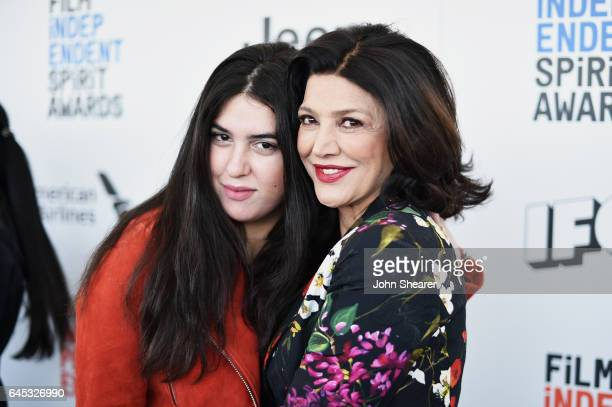 Director Tara Touzie and actor Shohreh Aghdashloo attend the 2017 Film Independent Spirit Awards at Santa Monica Pier on February 25 2017 in Santa...