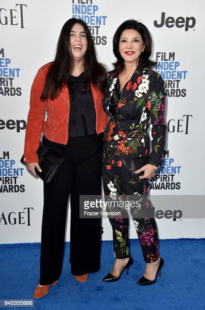 Director Tara Touzie and actor Shohreh Aghdashloo attend the 2017 Film Independent Spirit Awards at the Santa Monica Pier on February 25 2017 in...