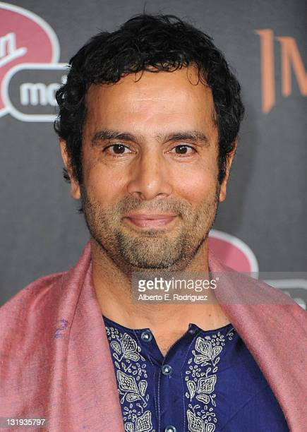 Director Tarsem Singh arrives at Relativity Media's Immortals premiere presented in RealD 3 at Nokia Theatre LA Live at Nokia Theatre LA Live on...