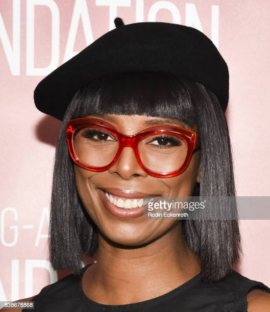 Director Tasha Smith poses for portrait at SAGAFTRA Foundation Conversations with 'When Love Kills' at SAGAFTRA Foundation Screening Room on August...