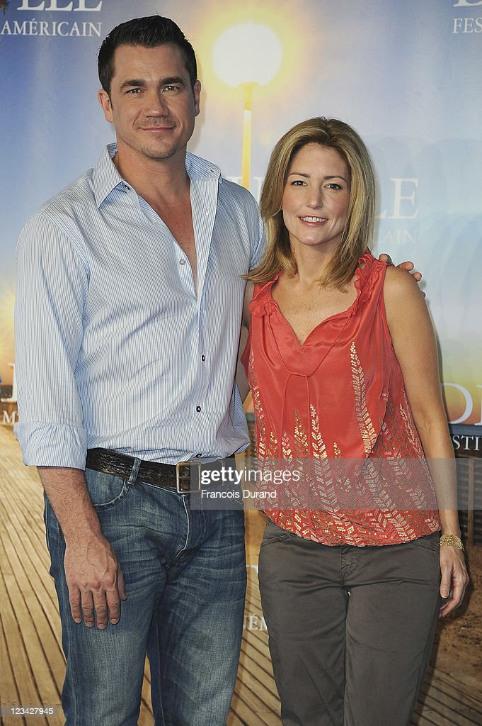 Director Tate Taylor and writer Kathryn Stockett pose at 'The Help' Photocall during 37th Deauville American Film Festival on September 3, 2011 in Deauville, France.