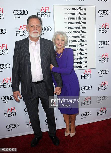 Director Taylor Hackford and actress/wife Helen Mirren arrive for the AFI FEST 2016 Presented By Audi Premiere Of Sony Pictures Classics' The...