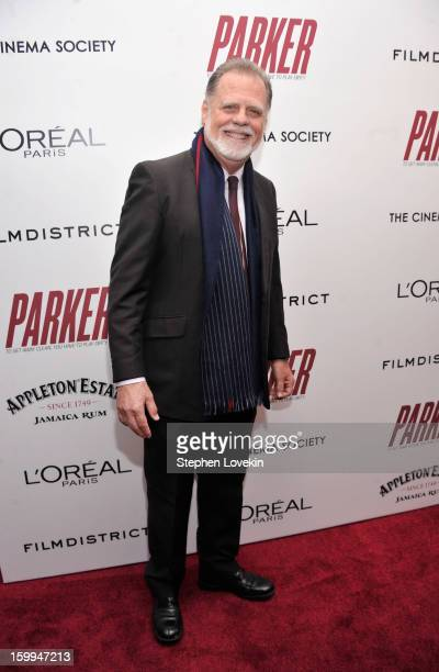 Director Taylor Hackford attends a screening of Parker hosted by FilmDistrict The Cinema Society L'Oreal Paris and Appleton Estate at MOMA on January...