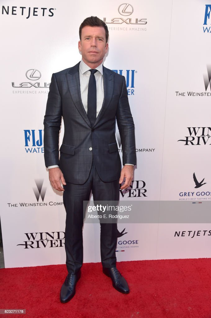 Director Taylor Sheridan attends the premiere of The Weinstein Company's 'Wind River' at The Theatre at Ace Hotel on July 26, 2017 in Los Angeles, California.
