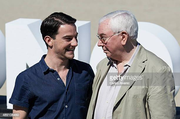"Director Terence Davies and actor Kevin Guthrie attend ""Sunset Song"" photocall a the Kursaal Palace during the 63rd San Sebastian International Film..."