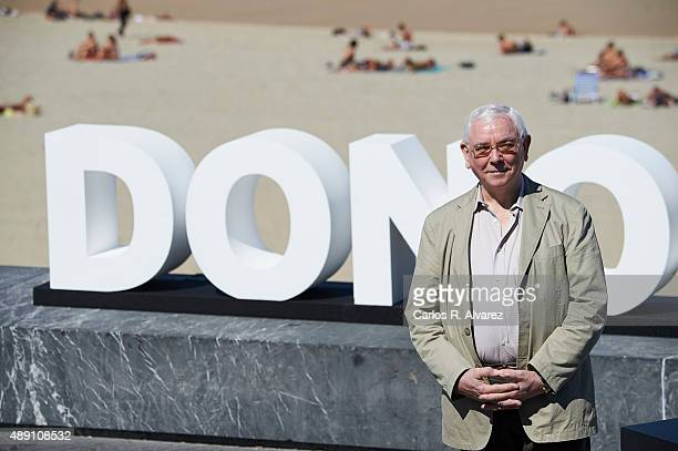 "Director Terence Davies attends ""Sunset Song"" photocall a the Kursaal Palace during the 63rd San Sebastian International Film Festival on September..."
