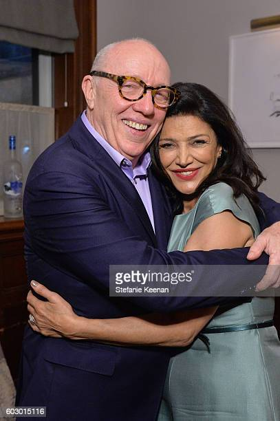 Director Terry George and actress Shohreh Aghdashloo at the The Promise TIFF party hosted by GREY GOOSE Vodka and Soho House Toronto on September 11...