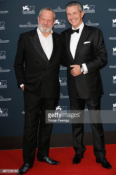 Director Terry Gilliam and JaegerLeCoultre Ceo Daniel Riedo attend the JaegerLeCoultre gala event celebrating 10 years of partnership with La Mostra...