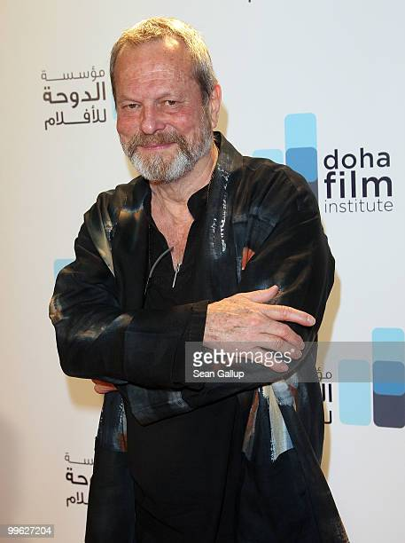 Director Terry Gilliam attends the Doha Film Institute launch event on May 16 2010 in Cannes France