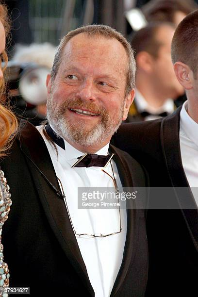 """Director Terry Gilliam attends """"The Imaginarium of Doctor Parnassus"""" premiere at the Palais De Festivals during the 62nd Annual Cannes Film Festival..."""