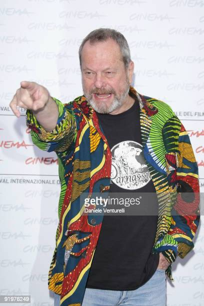 """Director Terry Gilliam attends """"The Imaginarium Of Doctor Parnassus"""" Photocall during day 4 of the 4th Rome International Film Festival held at the..."""