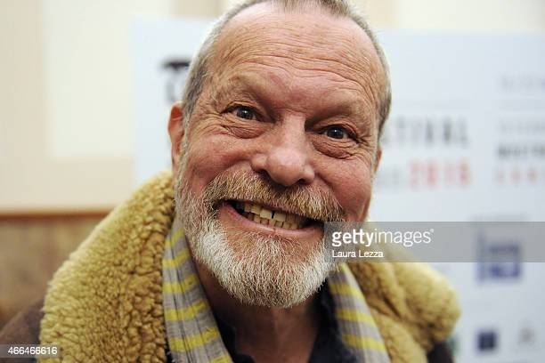 Director Terry Gilliam attends the Lucca Film Festival on March 15 2015 in Lucca Italy