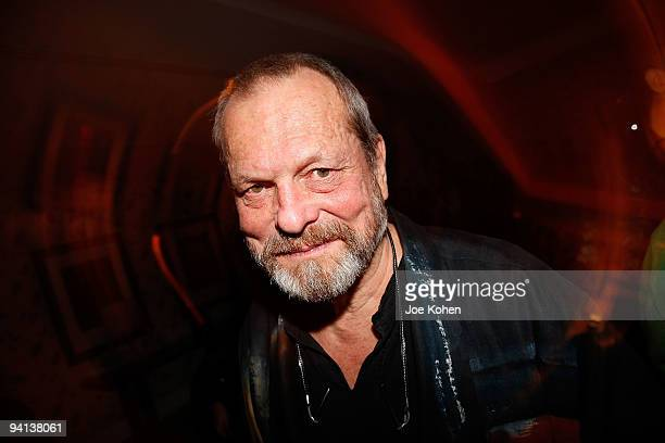 """Director Terry Gilliam attends the premiere of """"The Imaginarium of Doctor Parnassus"""" after party at the Crosby Street Hotel on December 7, 2009 in..."""