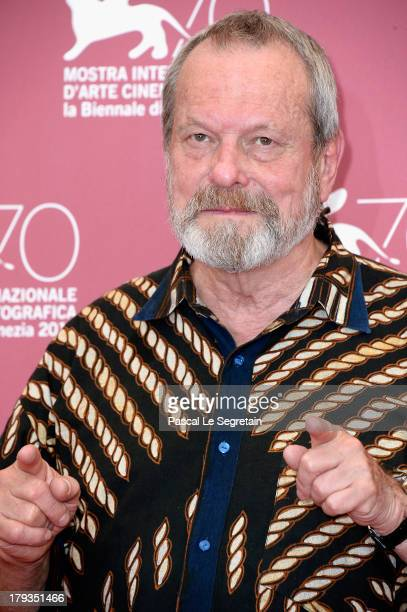 Director Terry Gilliam attends 'The Zero Theorem' Photocall during the 70th Venice International Film Festival at the Palazzo del Casino on September...