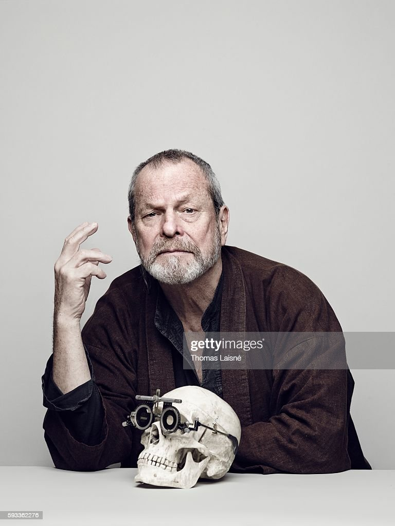 Director Terry Gilliam is photographed for Self Assignment on April 11, 2014 in Paris, France.