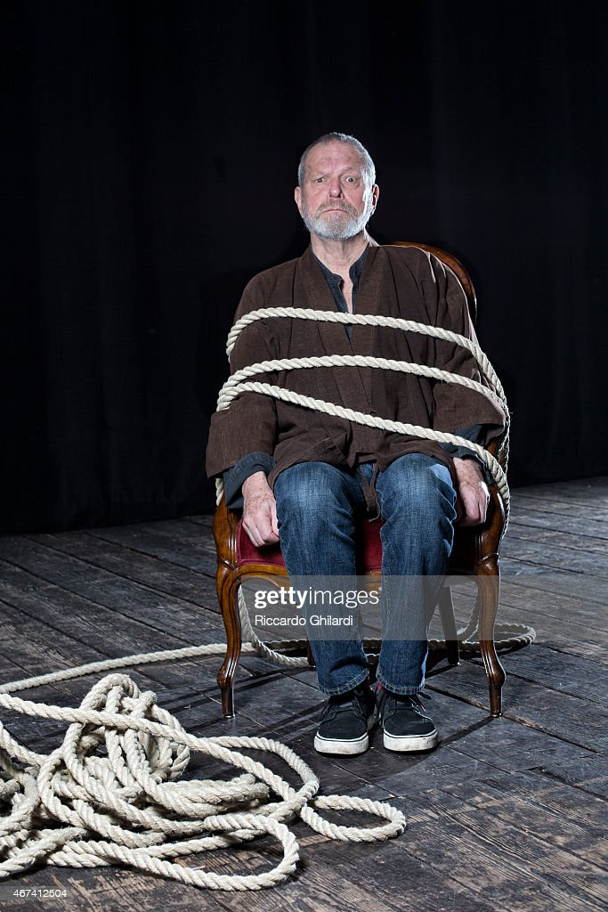 Director Terry Gilliam is photographed for Self Assignment on March 16, 2015 in Lucca, Italy.