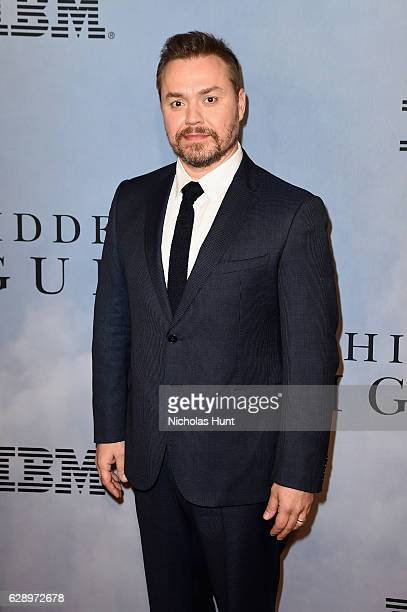 Director Theodore Melfi attends the Hidden Figures New York Special Screening on December 10 2016 in New York City