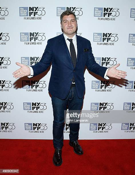 Director Thomas Bidegain attends 'Les Cowboys' during 53rd New York Film Festival at Alice Tully Hall Lincoln Center on October 1 2015 in New York...