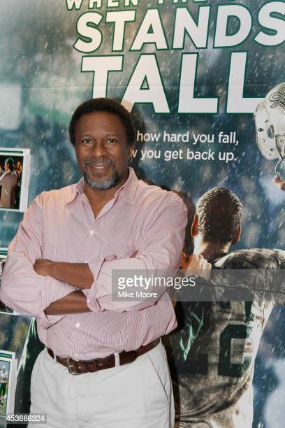 Director Thomas Carter poses before a special screening of his movie When The Games Stands Tall on August 15 2014 in Tempe Arizona