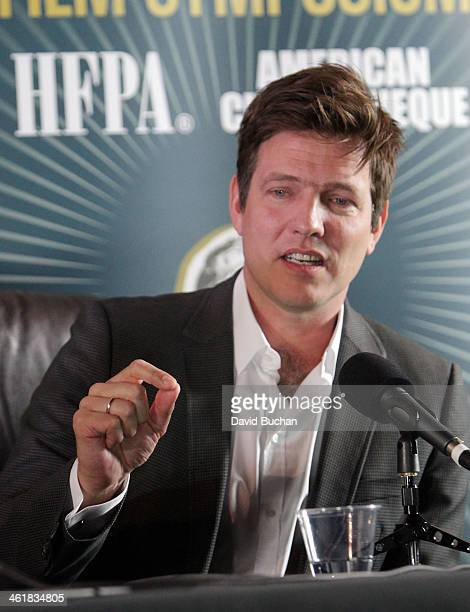 Director Thomas Vinterberg attends the Golden Globe Foreign Language Film Symposium at the Egyptian Theatre on January 11 2014 in Hollywood California