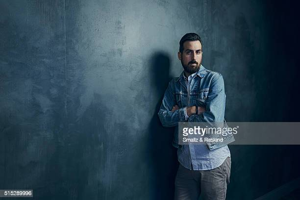 Director Ti West of 'In a Valley of Violence' is photographed in the Getty Images SXSW Portrait Studio powered by Samsung at the Samsung Studio on...