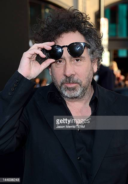 Director Tim Burton arrives at the premiere of Warner Bros Pictures' 'Dark Shadows' at Grauman's Chinese Theatre on May 7 2012 in Hollywood California