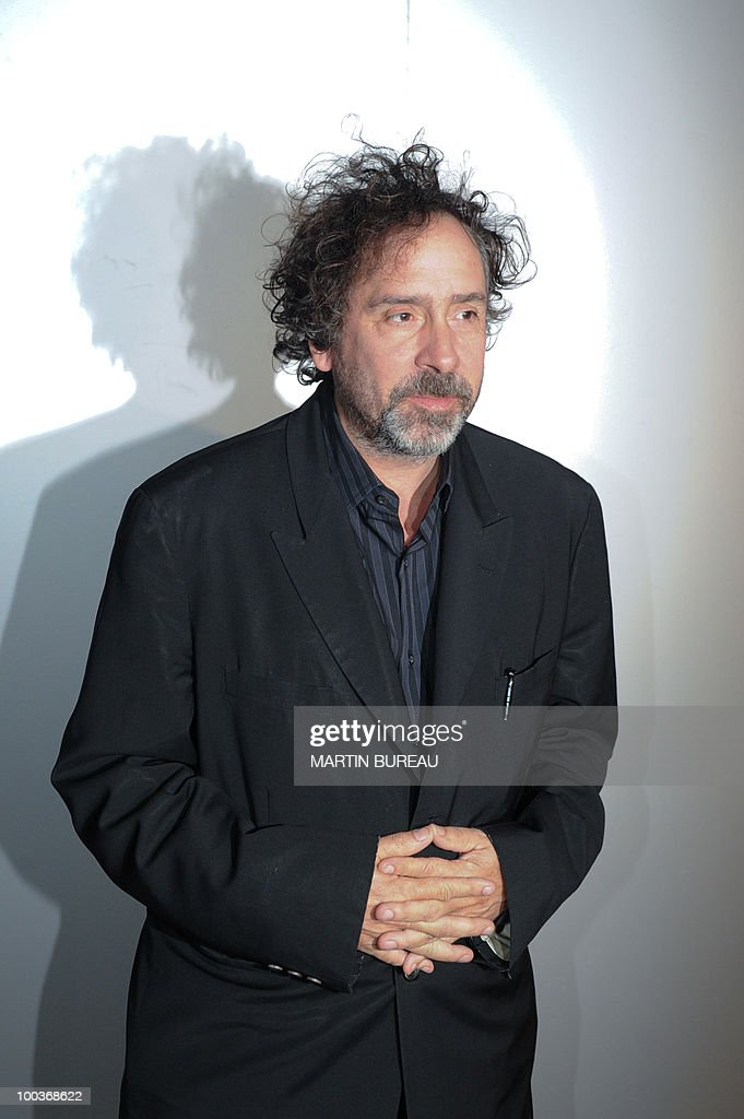 US director Tim Burton arrives to attend the Figaro Madame/Chanel dinner during the 63rd Cannes Film Festival on May 18, 2010 in Cannes.