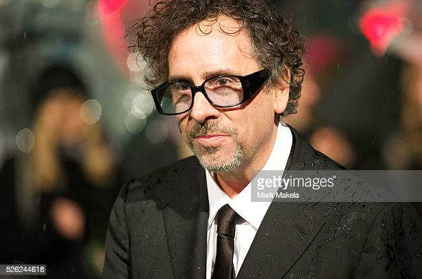 Director Tim Burton attend the Royal World Premiere of 'Alice in Wonderland' at the Odeon Leicester Square in London