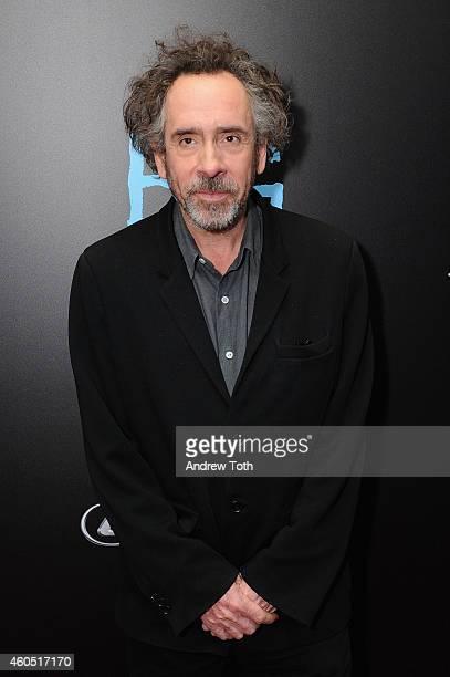 Director Tim Burton attends 'Big Eyes' New York premiere at Museum of Modern Art on December 15 2014 in New York City
