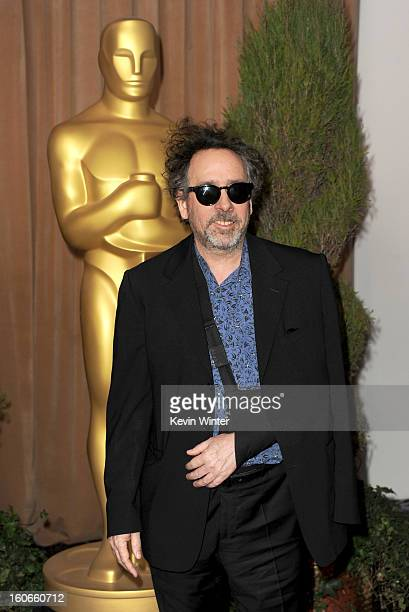 Director Tim Burton attends the 85th Academy Awards Nominations Luncheon at The Beverly Hilton Hotel on February 4 2013 in Beverly Hills California
