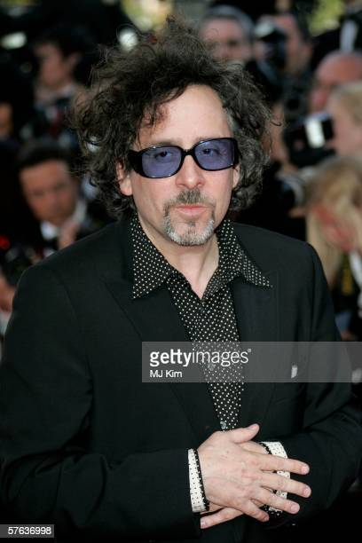 Director Tim Burton attends The Da Vinci Code World Premiere Opening Gala at the Palais during the 59th International Cannes Film Festival May 17...