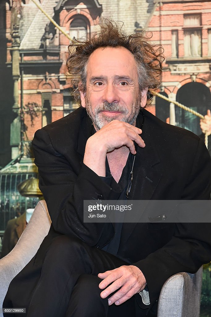 Director Tim Burton attends the press conference for the Japanese premiere of 'Miss Peregrine's Home for Peculiar Children' on January 31, 2017 in Tokyo, Japan.