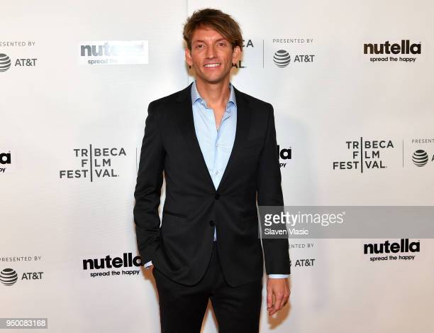 Director Tim McGrath attends the Shorts Program Surviving Theather 9 during Tribeca Film Festival at Regal Battery Park 11 on April 22 2018 in New...