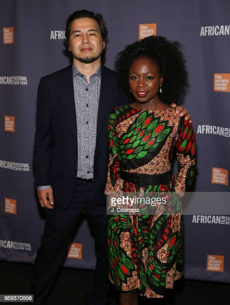 Director Tim Naylor and producer Zainab Jah attend the opening night of the 25th African Film Festival at Walter Reade Theater on May 16 2018 in New...