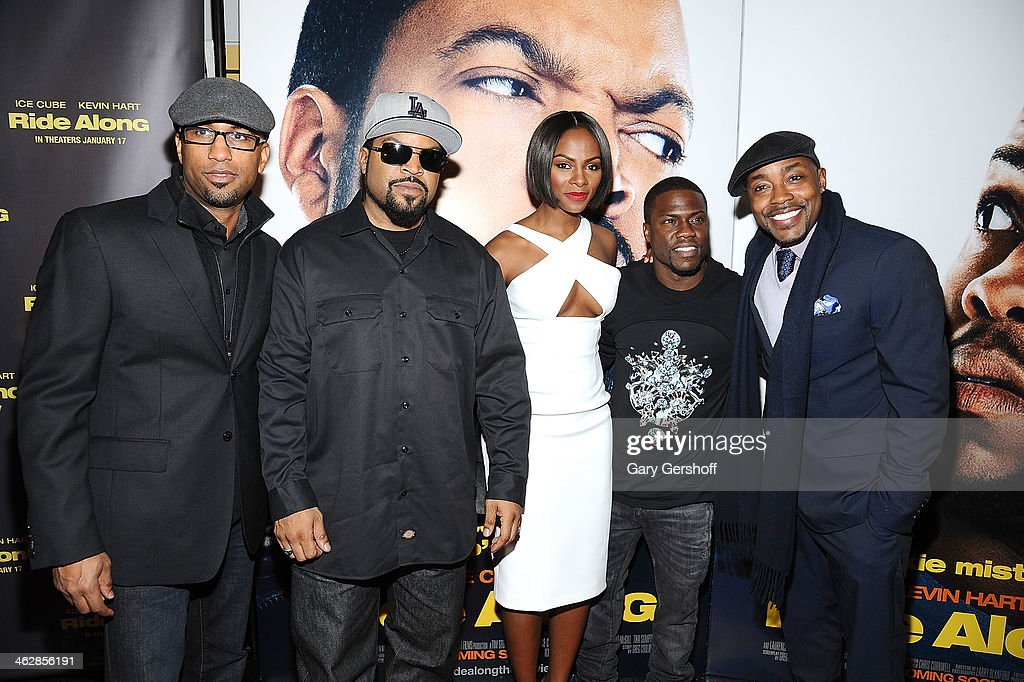 """Ride Along"" New York Screening : News Photo"