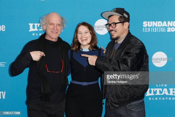 Director Timothy GreenfieldSanders Allegra Leguizamo and John Leguizamo attend the 'Toni Morrison The Pieces I Am' Premiere during the 2019 Sundance...