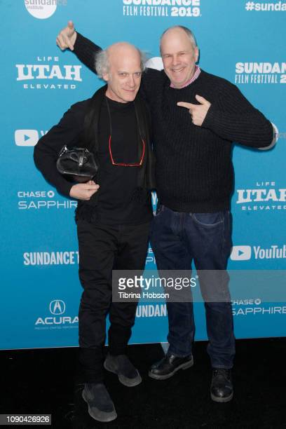 Director Timothy GreenfieldSanders and Producer Michael Kantor attend the 'Toni Morrison The Pieces I Am' Premiere during the 2019 Sundance Film...