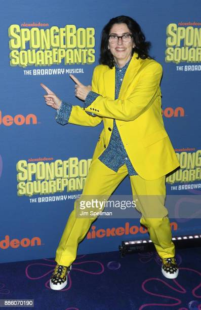 Director Tina Landau attends the 'Spongebob Squarepants' Broadway opening night after party at The Ziegfeld Ballroom on December 4 2017 in New York...