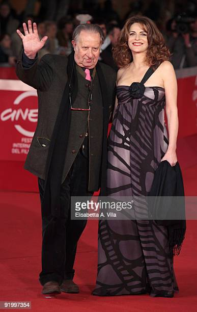 Director Tinto Brass and actress Caterina Varzi attend the 'Christine, Cristina' Premiere during day 5 of the 4th Rome International Film Festival...