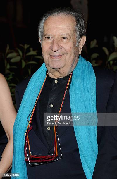 Director Tinto Brass attends the Opening Ceremony Dinner at the Excelsior Hotel during the 67th Venice International Film Festival on September 12010...