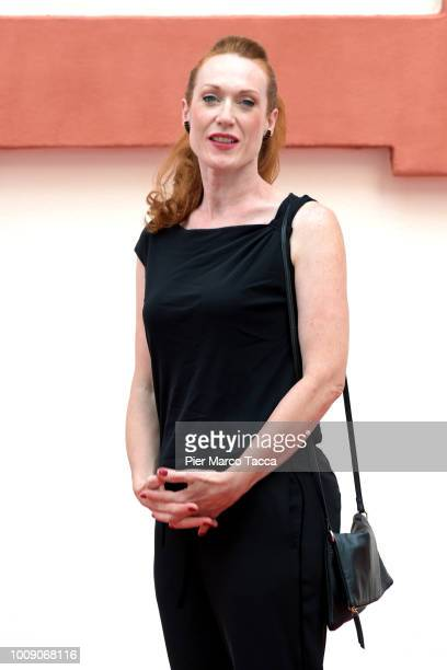 Director Tizza Covi attends the International Competition Jury photocall during the 71st Locarno Film Festival on August 1 2018 in Locarno Switzerland