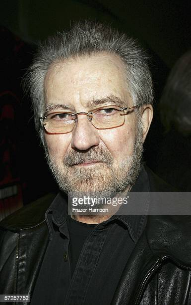 Director Tobe Hooper arrives at the Launch Party For Showtime's 'Masters Of Horror' held at Ivar Club on April 4 2006 in Hollywood California