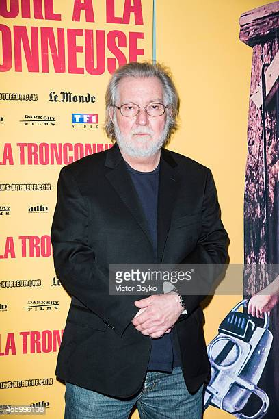 Director Tobe Hooper attends the Texas Chain Saw Massacre screening For Film's 40th Anniversary In Paris at Le Grand Rex on September 23 2014 in...