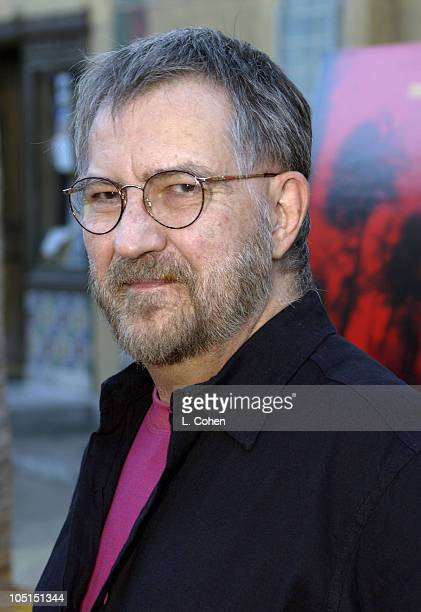 Director Tobe Hooper during 'Cabin Fever' Premiere Red Carpet in Hollywood California United States