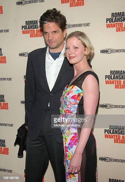 Director Tod Williams and actress Gretchen Mol attends the HBO Documentaries premiere Of Roman Polanski Wanted And Desired at The Paris Thatre in New...