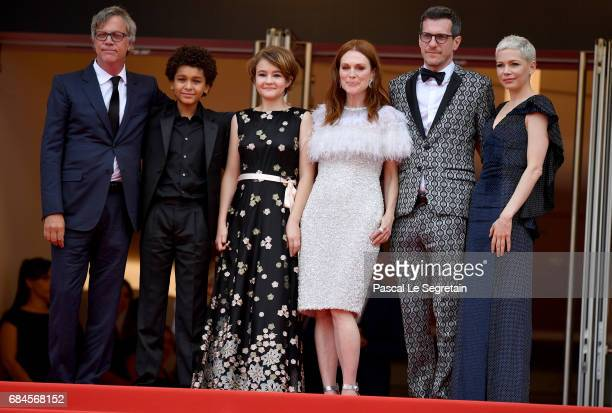 Director Todd Haynes actor Jaden Michael actresses Millicent Simmonds actress Julianne Moore screenwriter Brian Selznic and actress Michelle Williams...